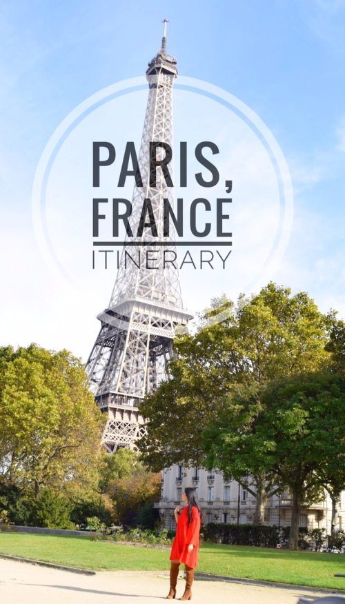 what to do in paris- paris itinerary
